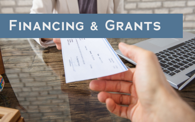 Financing and grants button