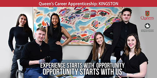 Queen's Career Apprenticeship: Kingston