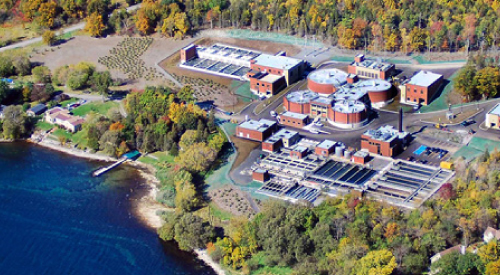 Photo of Kingston wastewater facility
